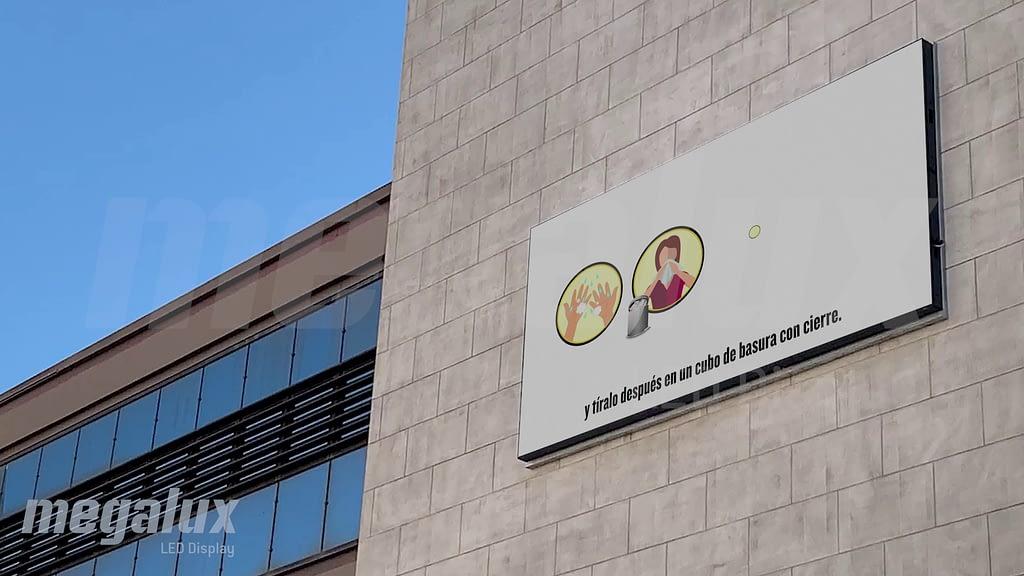 El Ayuntamiento de Alaquas comunica mejor con una gran pantalla LED de Megalux
