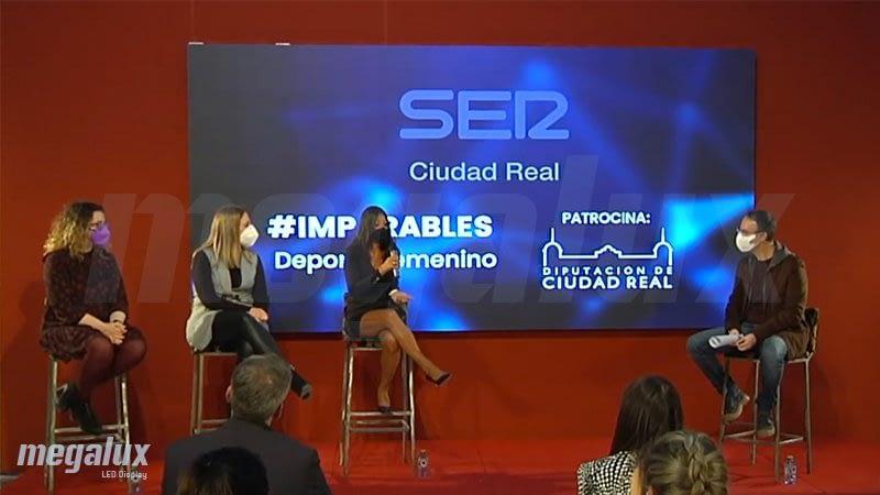 Cadena SER y la Diputación de Ciudad Real apoyan al deporte femenino con Pantallas LED Megalux