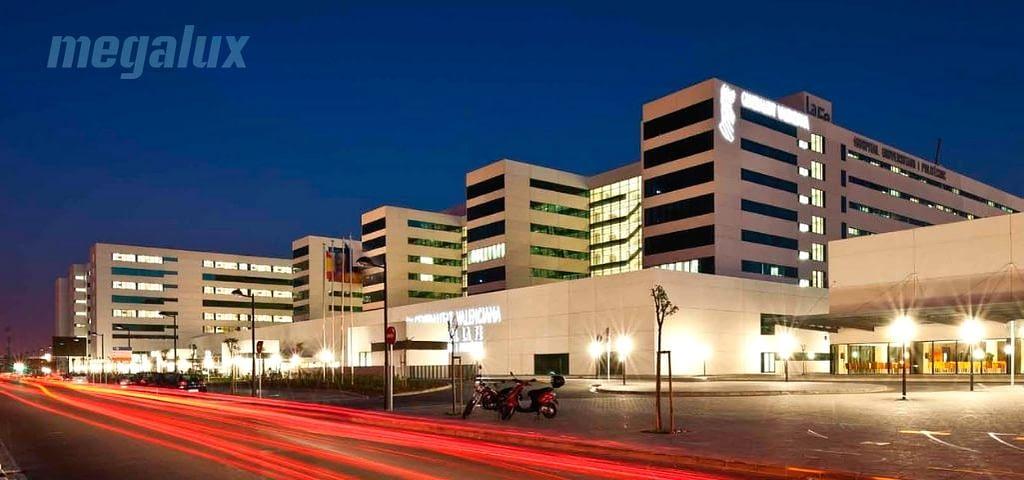Coronavirus: Megalux dona 4.400 tubos de LED al Hospital La Fe