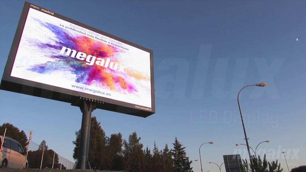 Mercamadrid elige a Megalux para tu proyecto de pantallas LED de gran formato